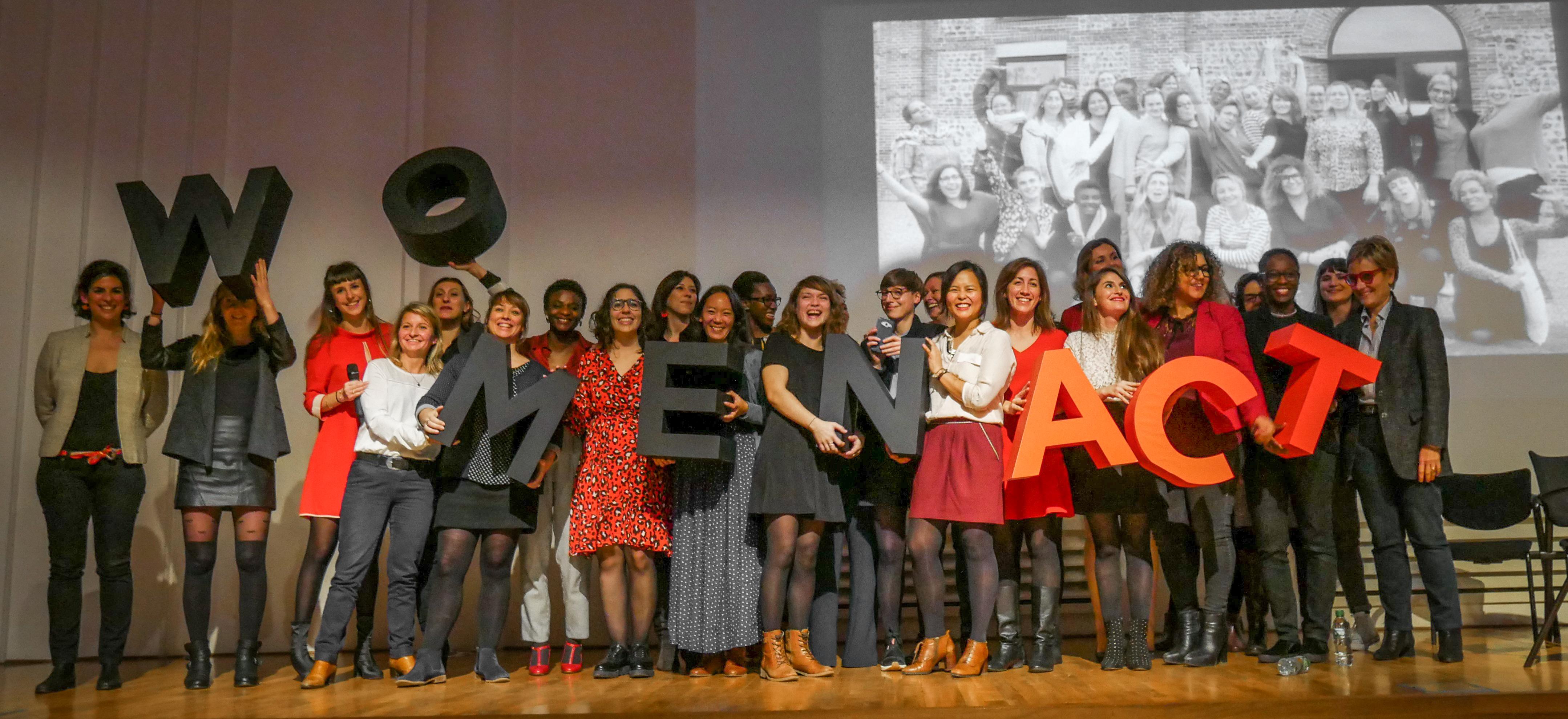 Clap de fin pour la promotion Women'Act 2018